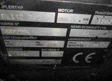 CESAB BLITZ 312 1500 кг.
