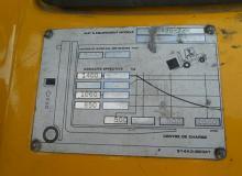 ЕЛЕКТРОКАР TCM FTB18-4-VFHM4800-SS-CAB-B72LE00484-SH 1800 кг.