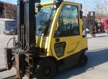 МОТОКАР HYSTER H2.5FT No:L177 B21609F / 3F500 / 2.5t / 2008Y / LPG 2500 кг.