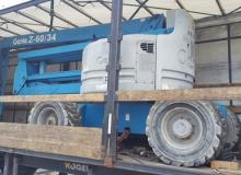 РАБОТНА ПЛАТФОРМА GENIE Z-60/34 / SN:3136 / 2001 / WORKING HEIGHT 20.40M 400 кг.