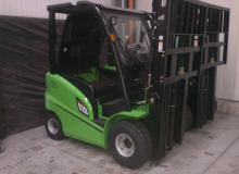 ЕЛЕКТРОКАР  OSAKA CPD20-AC4 / S№ H1AC00359 /  MAST 4500 TRIPLEX  / 2000 кг.