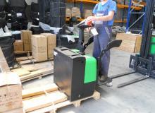 РЪЧНОВОДИМ НИСКОПОВДИГАЧ WP-LPT22 (AC) 2200kg 2200 кг.