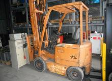 ЕЛЕКТРОКАР TCM FB15-6 / S№77H 01884 / 1999 / VFHM600-77H / 490227 / 48V 485Ah / 1500 кг.